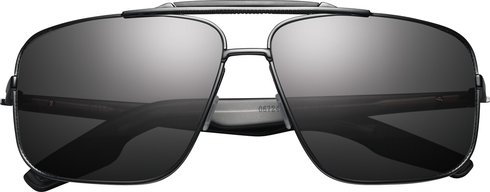 custer, navigator style frame, black