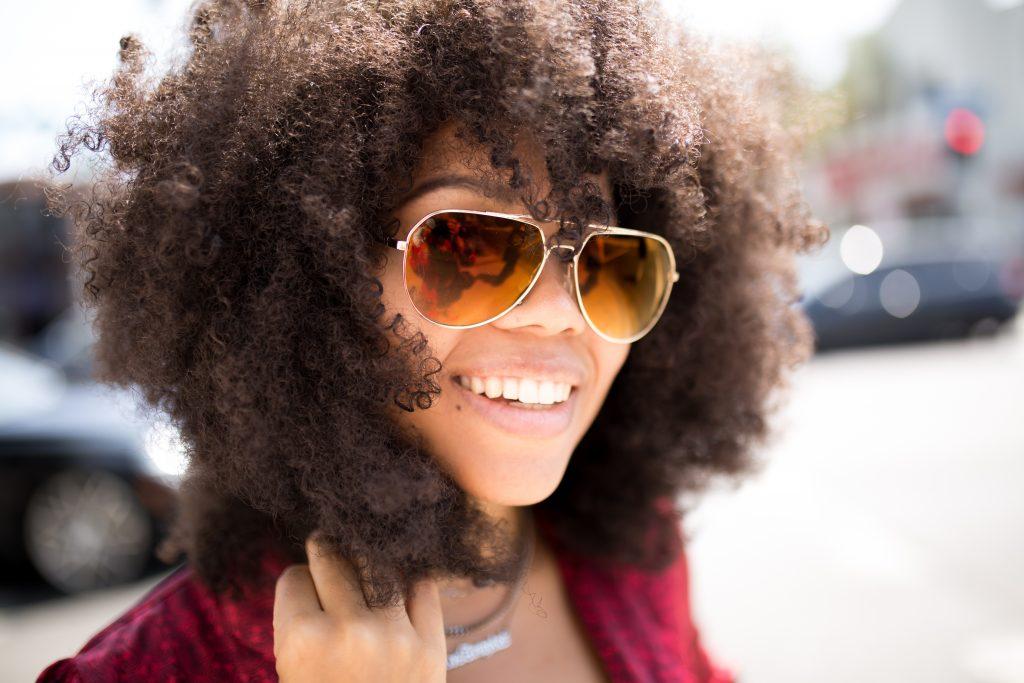 women wearing blake sunglasses