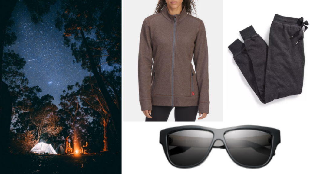 camping and clothing style