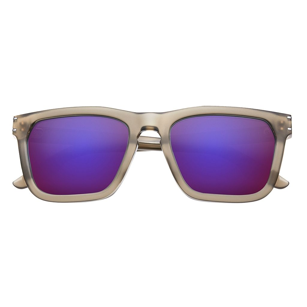 Shades with purple lens and white frames