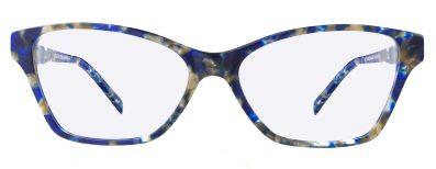 Blue optical lenses for women