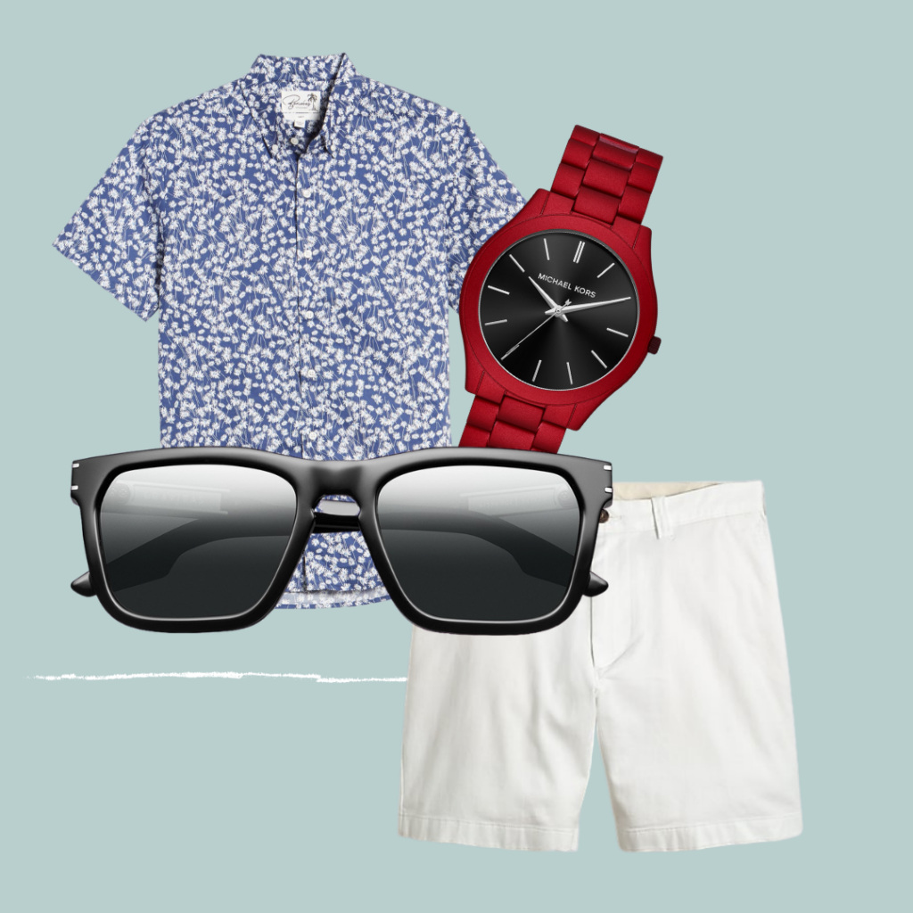 Outfit with Gravitas glasses