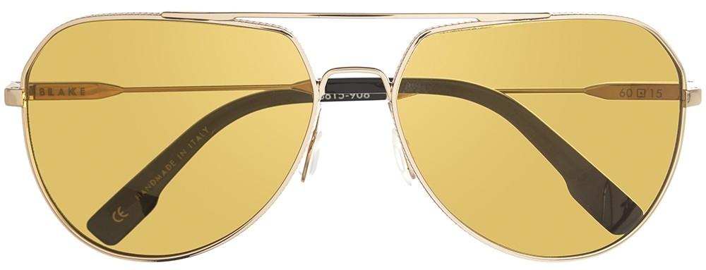 aviators, gold lense, gold rims
