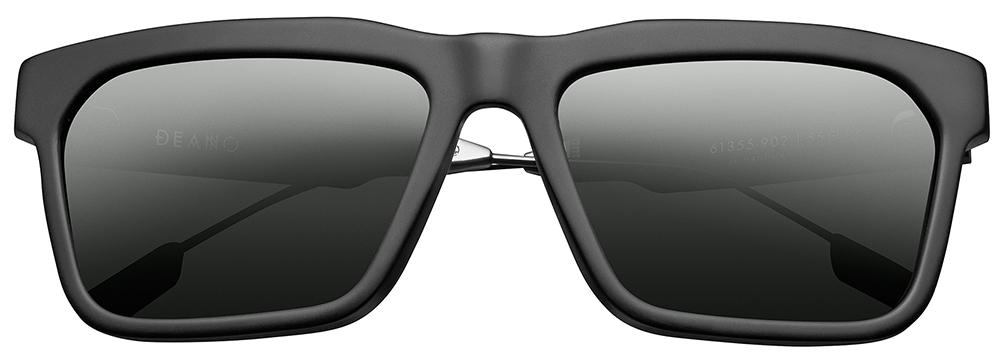 black frames, black lenses, sunglasses