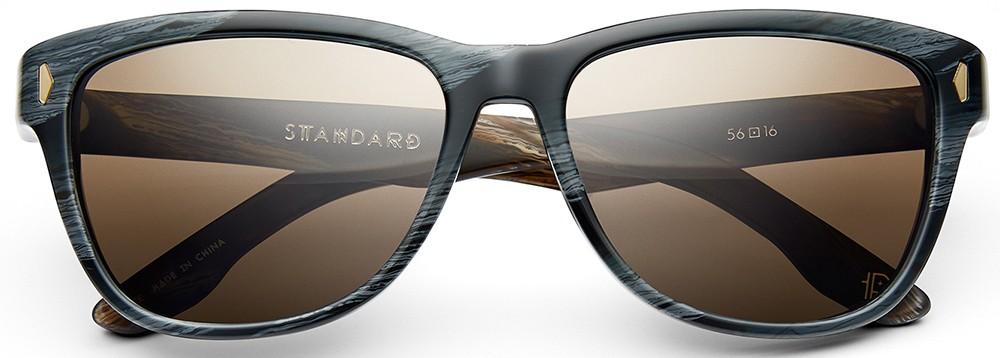 classic sunglasses, black, grey